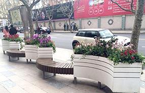 西安雁塔区,闲庭信步系列PVC 花箱